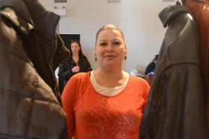 """""""Sé que lo logrará"""", dijo Beatrice Sánchez del objetivo de Martínez de recolectar cientos de abrigos."""