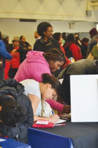 The College EDge fair was a full day's program of workshops and career and college mentoring.