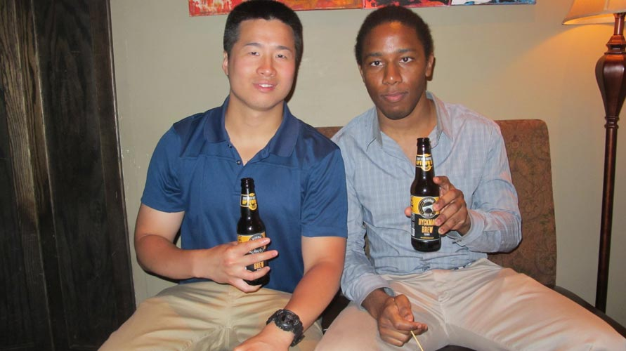 The launch of the Dyckman Brew at APT 78 drew a full house.