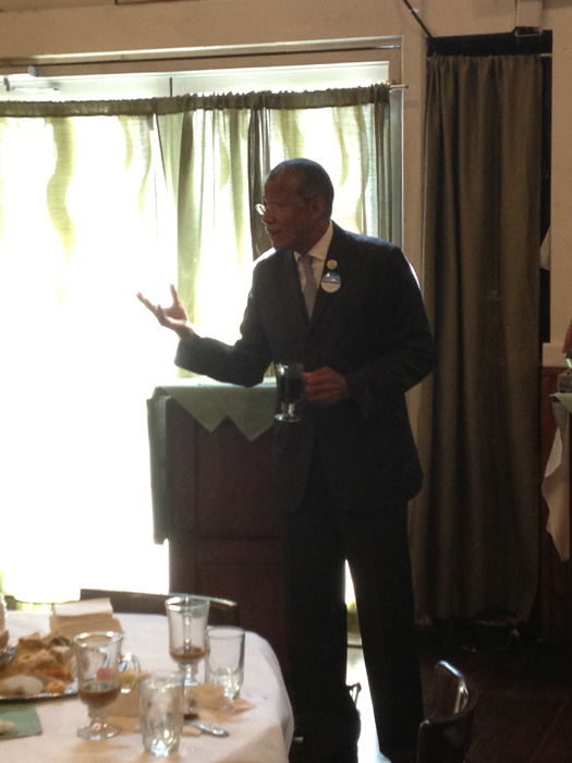 Councilmember Robert Jackson spoke on street vendors.