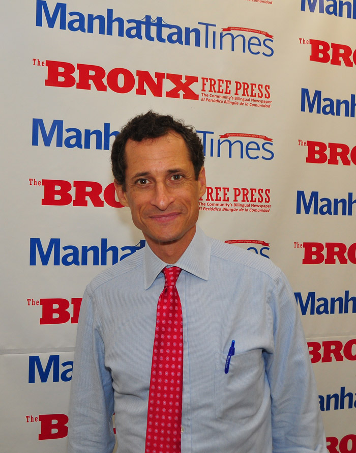 """This isn't a popularity contest,"" said former Congressman and mayoral candidate Anthony Weiner."