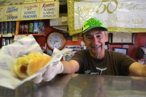 """I treat everyone well,"" says Fredy Loeser of Loeser's Kosher Deli."