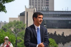 Councilmember Ydanis Rodríguez lent his support.