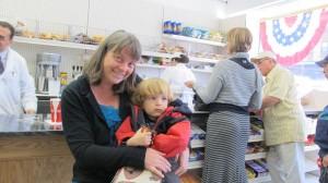 Inger Tildsen-Preton will be baking bread for Dichter's Pharmacy Soda Shoppe.