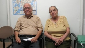 """""""People kept asking us why we didn't leave,"""" said Isabel Navarro, with her husband Carlos; both founded the non-profit organization Casa México."""