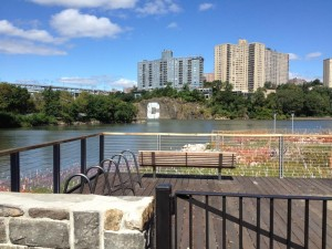 Columbia University expects that the waterfront park Muscota Marsh will be open later this fall.