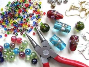 Work together with your child to make a perfect piece of jewelry.