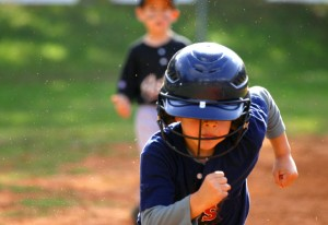 Little League and Swimmer Find a sport or activity that your child enjoys.