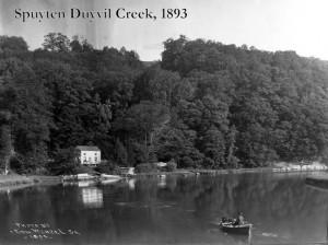 The fields near the Park's salt marsh used to be Spuyten Duyvil Creek.