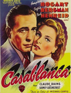 Fans will also be able to see the classic film starring Humphrey Bogart and Ingrid Bergman at the Palace. </br><i>Photo: www.unitedpalace.org </i>