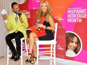 """Never forget your roots,"" said Thalía. </br><i> Photo: QPHOTONYC </i>"