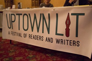 The first uptown literary festival was hosted this week. </br><i>Photo: M. Cummings </i>