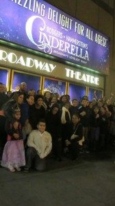 Uptown families attended <i>Cinderella</i> as part of the Viva Broadway initiative.