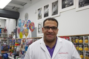 """""""We need this,"""" said Manny Ramírez of creating a community hub within his pharmacy."""