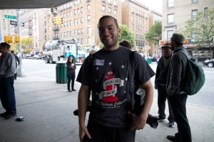 "Word Up's Emmanuel Abreu, aka ""DJ Boy"". </br><i>Photo: Sherry Mazzocchi </i>"