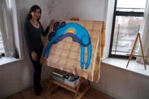 """Andrea's art is very magical,"" said Zead Ramadan, the Shabazz Center's Executive Director."