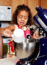 Involve your children in sorting ingredients.
