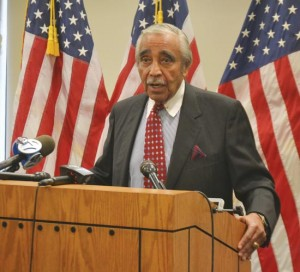 """There's a lot of work that we haven't had an opportunity to complete,"" said Congressman Charles B. Rangel, in announcing his re-election bid."