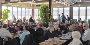 Seniors enjoyed an annual luncheon feast hosted by EmblemHealth at La Marina. </br><i>Photo: QPHOTONYC </i>