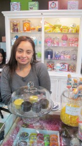 """We wanted to give back to the community,"" said Nalanie Milano, co-owner of candy store Coco Le Vue."