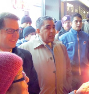 """Our neighborhood is going to fight for them,"" said Sen. Adriano Espaillat."