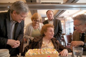 Ehrenberg was feted with a birthday party.