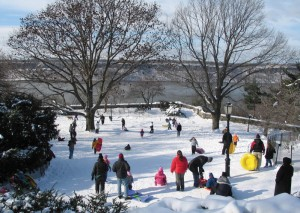 Outdoor fun can be had in the winter as well. </br><i>Photo: Mark D. Speed </i>