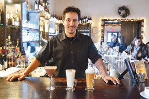 """You want something that's going to replenish your energy,"" explained bartender David Moreira."