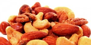 Grab a handful of nuts rather than fried foods.