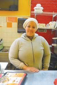 """A combination of sweet and savory,"" explains employee Yaquenia Vargas of the menu."