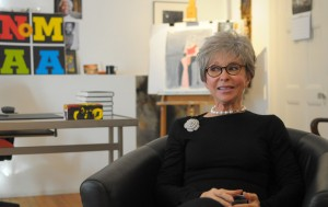 """I have some warm memories,"" says screen and stage icon Rita Moreno of her childhood in Washington Heights."