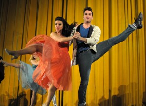 Dancers performed before the <i>West Side Story</i> screening at the United Palace.