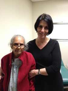"""She might outlive all of us,"" says Dr. Ageliki Vouyouka, a vascular surgeon at The Mount Sinai Medical Center, of her 92-year-old patient Maria."