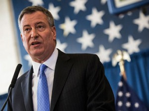 Mayor Bill de Blasio has announced that the city will accept the ruling that stop and frisk is unconstitutional.
