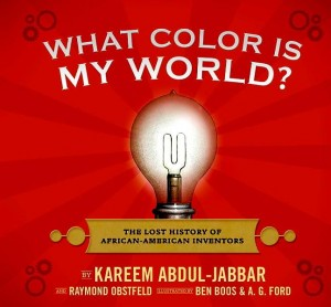 <i>What Color Is My World?</i> is written by Washington Heights' own Kareem Abdul-Jabbar.