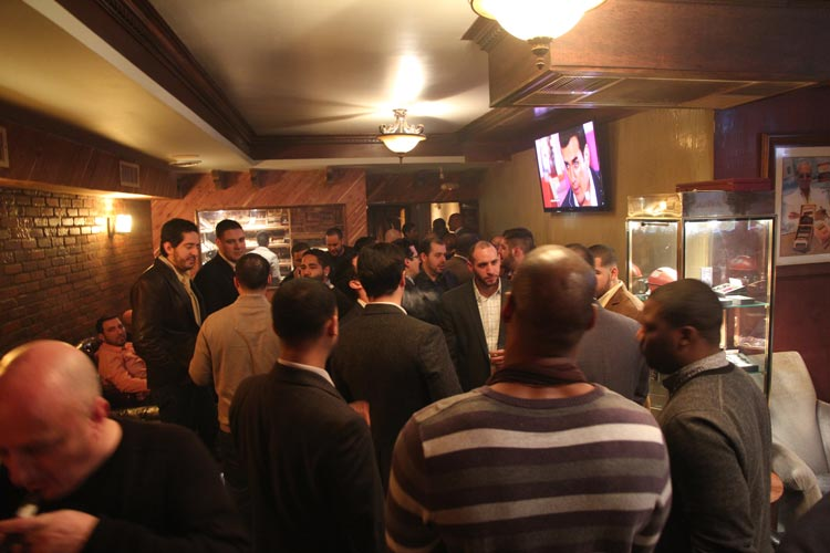 The duo has hosted a number of men's networking events.