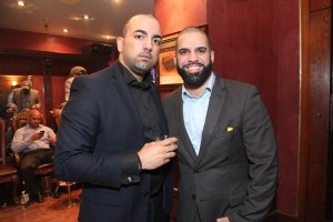 """It's a great opportunity,"" promised Michael Díaz (right), who together with Ariel Ferreira, is hosting a women's cigar networking event."