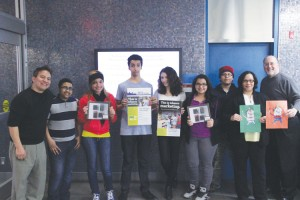 Youths from the the YM and YWHA of Washington Heights and Inwood spoke out against Big Tobacco on national Kick Butts Day (KBD).