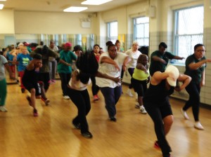 Among the Shape Up NYC classes offered are Zumba sessions. </br><i>Photo: NYCParks/Elizabeth Walker</i>