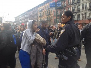 Residents sought assistance. Photo: E. Pagan