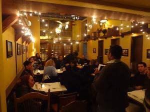 NOMAT Book Club meets at Le Chéile.