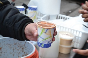 A dollar can buy you a cup of the sweet delicacy along St. Nicholas Avenue virtually any time of the year.
