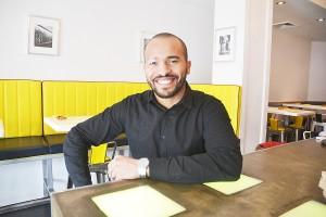 Jairo de la Paz basks in the glow of a Michelin recommendation.