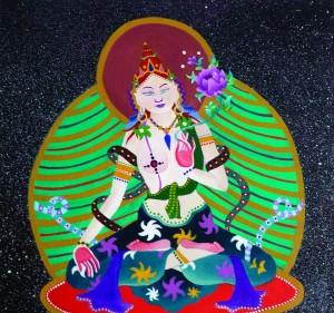 <i>Cosmic Buddha</i>, by Fischbach.