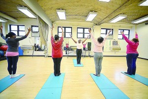 The Hansborough Recreation Center's fitness room has a new look. </br><i>Photo: Malcolm Pinckney/NYC Parks</i>