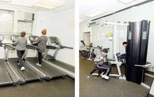 J. Hood Wright Recreation Center has new treadmills and fitness equipment. </br><i>Photo: Malcolm Pinckney/NYC Parks</i>
