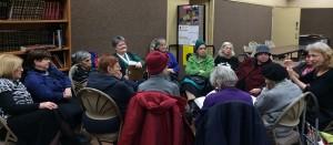 Moriah Senior Center's book club discussions often host 10-20 members. </br><i>Photo: Moriah Senior Center</i>