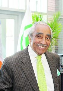 El congresista Charles B. Rangel.