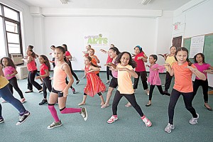 Youth courses instruct children on how to sing and dance.