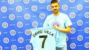 Villa vestirá su acostumbrado jersey con el número 7.